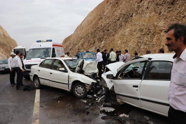 13 مجروح در تصادفات روز گذشته قم