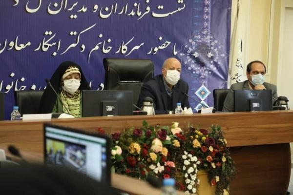 خبرنگاران استاندار اصفهان: مادران و همسران شهدا فجرآفرین هستند